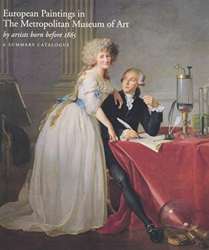 European Paintings in the Metropolitan Museum of Art by Artists Born before 1865: Baetjer, ...