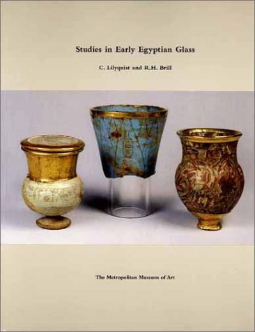 9780300086690: Studies in Early Egyptian Glass