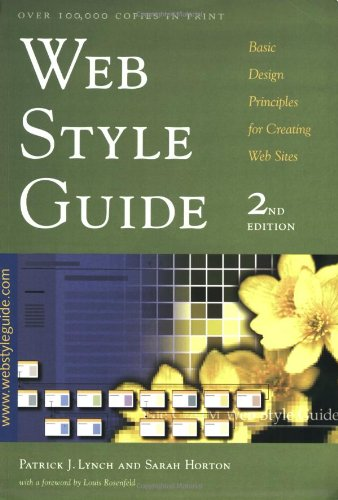 9780300088984: Web Style Guide: Basic Design Principles for Creating Web Sites, Second Edition