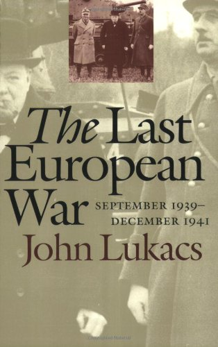 9780300089158: The Last European War: September 1939 - December 1941