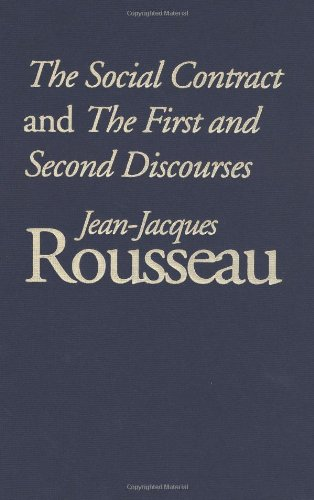 9780300091403: The Social Contract and the First and Second Discourses: And, the First and Second Discourses