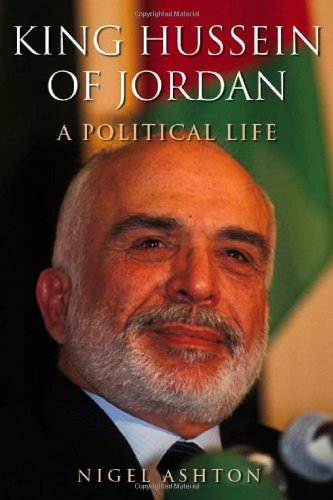 9780300091670: King Hussein of Jordan: A Political Life
