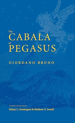 9780300092172: The Cabala of Pegasus