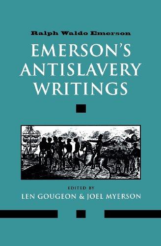 9780300094022: Emersons Antislavery Writings