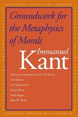 9780300094862: Groundwork for the Metaphysics of Morals