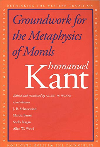9780300094879: Groundwork for the Metaphysics of Morals