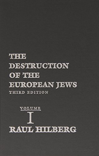 9780300095579: The Destruction of the European Jews, 3 Volume Set (Third Edition)