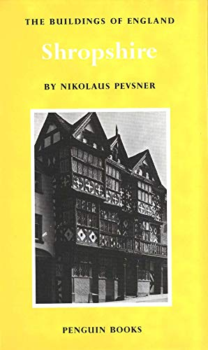 9780300096422: Shropshire (Pevsner Architectural Guides: Buildings of England)