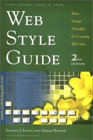 9780300096828: Web Style Guide: Basic Design Principles for Creating Web Sites; Second Edition