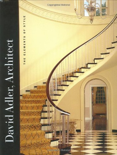 9780300097023: David Adler, Architect: The Elements of Style