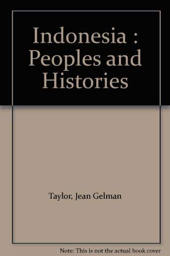 9780300097108: Indonesia: Peoples and Histories