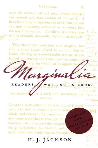 9780300097207: Marginalia: Readers Writing in Books (Yale Nota Bene)