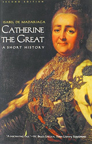 9780300097221: Catherine the Great: A Short History (Yale Nota Bene)