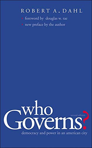 9780300103922: Who Governs?: Democracy and Power in the American City (Yale Studies in Political Science)