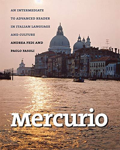 9780300104004: Mercurio: An Intermediate to Advanced Reader in Italian Language and Culture (Yale Language)
