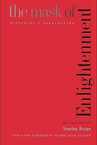 9780300104516: Mask of Enlightenment: Nietzsche's Zarathustra