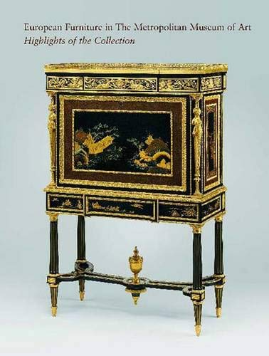 9780300104844: European Furniture in the Metropolitan Museum of Art. Highlights of the Collection