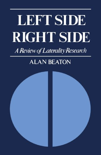 9780300105360: Left Side/Right Side: A Review of Laterality Research