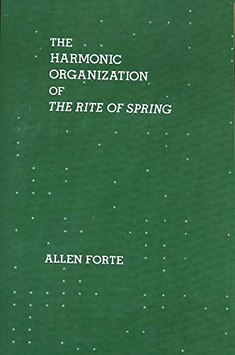 9780300105377: The Harmonic Organization of The Rite of Spring