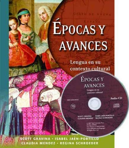 9780300108361: Epocas y Avances: Lengua en su contexto cultural (with Audio CD)