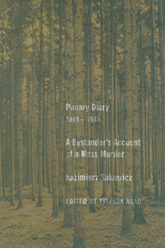 9780300108538: Ponary Diary, 1941-1943: A Bystander's Account of a Mass Murder