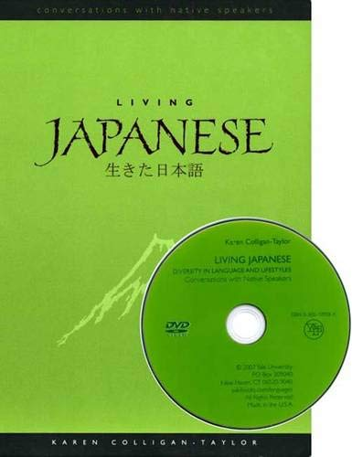 9780300109580: Living Japanese: Diversity in Language and Lifestyles (Conversations with Native Speakers)
