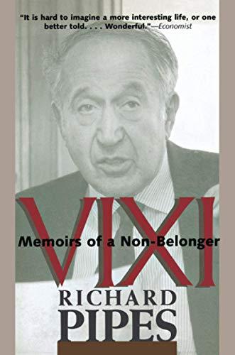 9780300109658: Vixi: Memoirs of a Non-Belonger