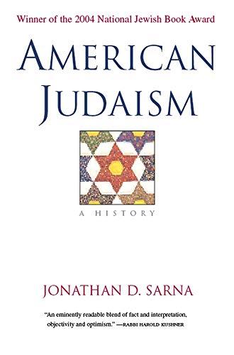 American Judaism: A History (signed): Sarna, Jonathan D.