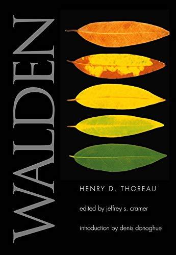 Walden (Yale Nota Bene): Thoreau, Henry David