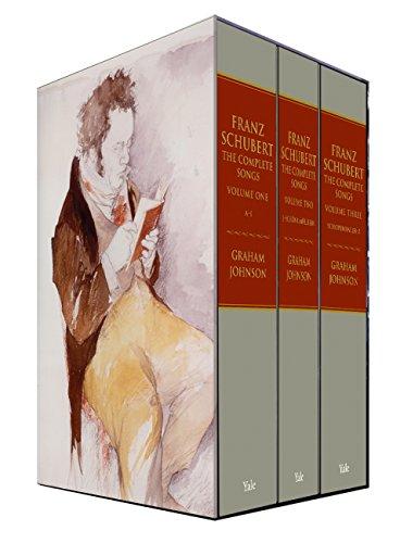 9780300112672: Franz Schubert: The Complete Songs