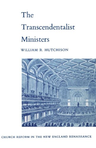9780300113198: Transcendentalist Ministers: Church Reform in the New England Renaissance