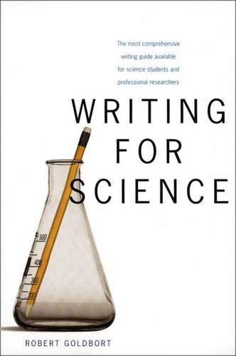 9780300115512: Writing for Science