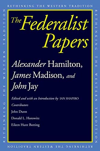9780300118902: The Federalist Papers (Rethinking the Western Tradition)