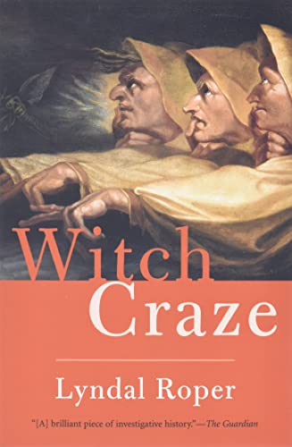 9780300119831: Witch Craze: Terror and Fantasy in Baroque Germany