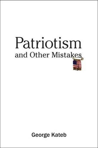 9780300120493: Patriotism and Other Mistakes