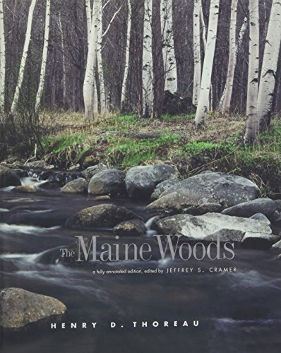 9780300122831: The Maine Woods: A Fully Annotated Edition