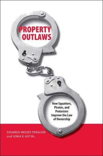 9780300122954: Property Outlaws: How Squatters, Pirates, and Protesters Improve the Law of Ownership