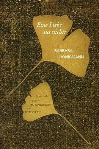 9780300123210: Eine Liebe aus nichts: A German Reader