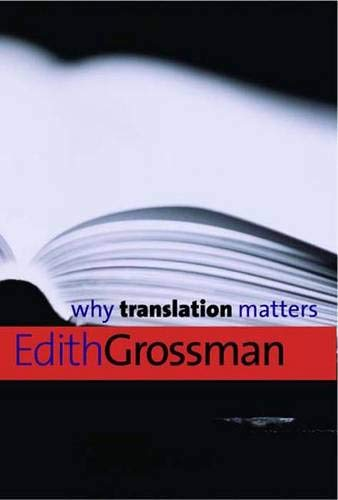 9780300126563: Why Translation Matters (Why X Matters Series)