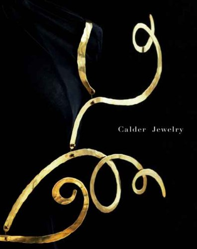 Calder Jewelry 9780300134285 Alexander Calder's jewellery has the same linear yet three-dimensional quality as his famous mobiles, and the parts that comprise each piece are hammered, shaped, and composed in a fashion that echoes the artist's creation of his sculpture. Calder produced more than 1,500 pieces of jewelry, beginning in 1906 when he adorned his sister's dolls with copper wire gathered from the streets. This use of non-precious materials and found objects guided his inventive jewellery technique, from his bohemian years of the 1920s and 1930s to the war years. His jewellery was coveted by the Surrealist coterie, and today is still highly sought after by collectors and museums.  Calder Jewelry  features around 300 bracelets, brooches, necklaces, and rings, all of which are exquisitely reproduced in newly commissioned photographs. Also included are examples of Calder's inventory drawings; the boxes he made to store the jewellery; historic photographs of his jewellery worn by notable patrons, art collectors, and artists (for instance, Peggy Guggenheim and Georgia O'Keeffe); and a chronology. Essays by Mark Rosenthal and Jane Adlin discuss the relationship of these objects to the artist's other endeavours and in relation to the history of jewellery.