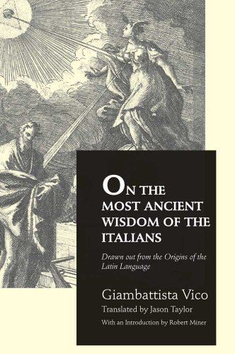 9780300136913: On the Most Ancient Wisdom of the Italians
