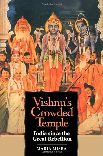 9780300137217: Vishnu's Crowded Temple: India Since the Great Rebellion