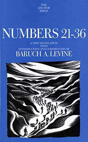 9780300139426: Numbers 21-36 (The Anchor Yale Bible Commentaries)