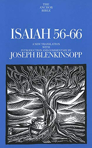 9780300139624: Isaiah 56-66: A New Translation With Introduction and Commentary