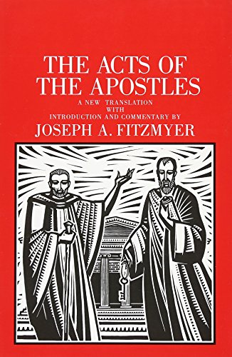 9780300139822: The Acts of the Apostles: A New Translation With Introduction and Commentary