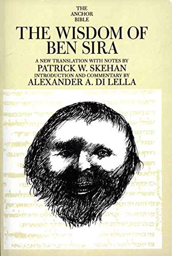 9780300139945: The Wisdom of Ben Sira (The Anchor Yale Bible Commentaries)