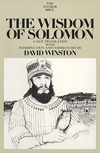 9780300139990: The Wisdom of Solomon: A New Translation With Introduction and Commentary