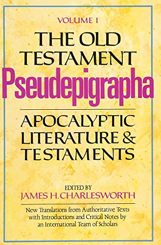 9780300140194: The Old Testament Pseudepigrapha, Volume 1: Apocalyptic Literature and Testaments (The Anchor Yale Bible Reference Library)