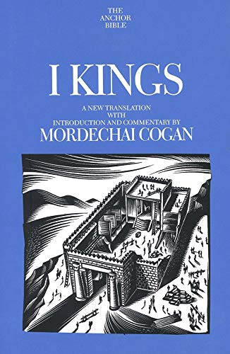 9780300140538: I Kings: A New Translation With Introduction and Commentary