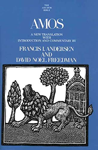 9780300140705: Amos (The Anchor Yale Bible Commentaries)